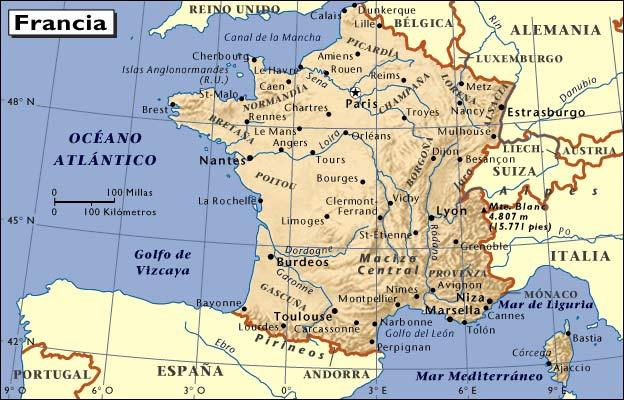 Mapas de Europa  MAPAS MAPA