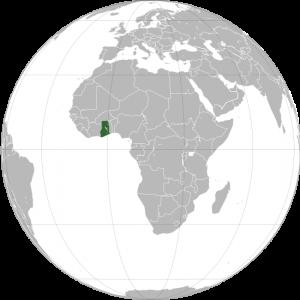 mapa-de-ghana