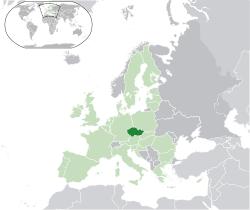 mapa-de-republica-checa