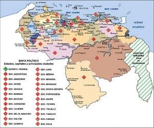 mapa-politico-de-venezuela