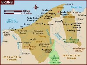 mapa-de-brunei