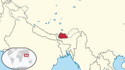 mapa-de-butan