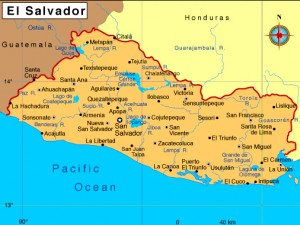 mapa de el salvador