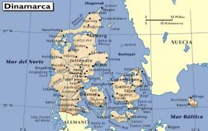 mapa-de-dinamarca