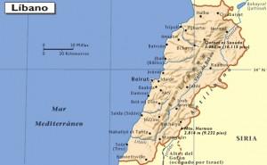 mapa-de-el-libano