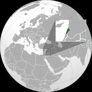 mapa-de-libano