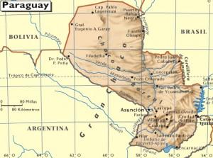 mapa-de-paraguay