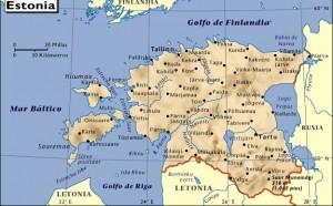 Mar Baltico Mapa Fisico.Mapa De Estonia Mapas Mapamapas Mapa