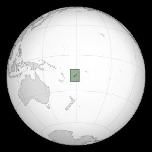 Mapa de Fiyi