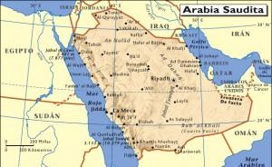mapa-de-arabia-saudita
