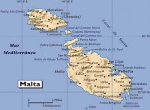 Mapa De Malta Mapas Mapamapas Mapa