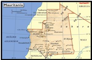mapa-de-mauritana
