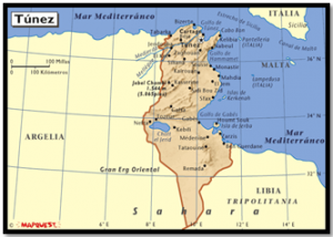 mapa-de-tunez