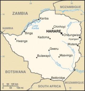 mapa-de-zimbabue