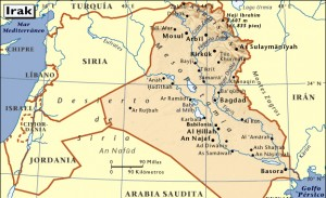 mapa-de-irak