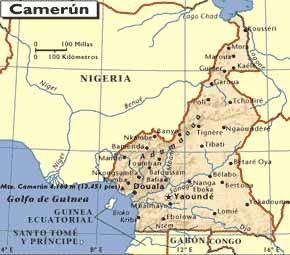 mapa-de-camerun